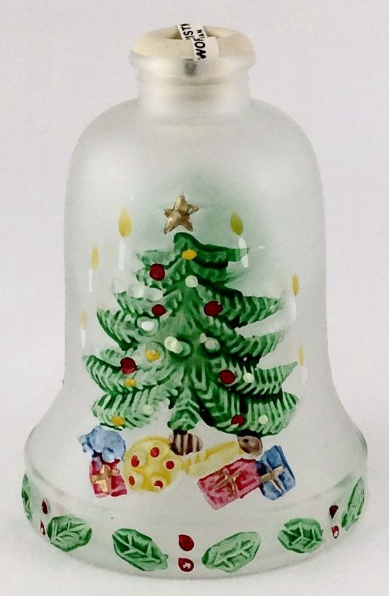 Bell Decoration Interesting Frosted Christmas Bell  World Christmas  Products Review