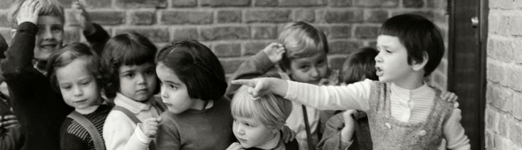 Alice Brill - Crianças da escola Waldorf ~1957, Higienópolis
