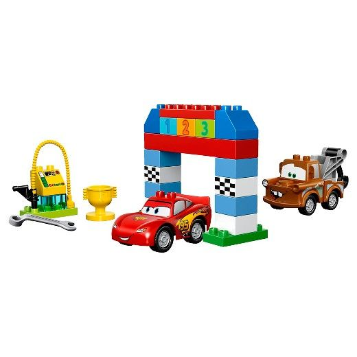 <p>LEGO® DUPLO® brand Disney Pixar Cars Disney-Pixar Cars™ Classic Race 10600:</p><p>Build, race and play with Lightning McQueen and Mater! Create action-packed racing with the LEGO® DUPLO® brand Cars™ Classic Race set featuring Lightning McQueen, Mater, fuel station and more. Get ready to zoom into action with your favorite racing friends Lightning McQueen and Mater! Little drivers can...