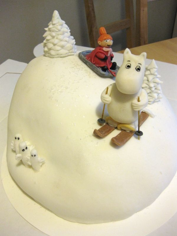 Moomin birthday cake, yummy!