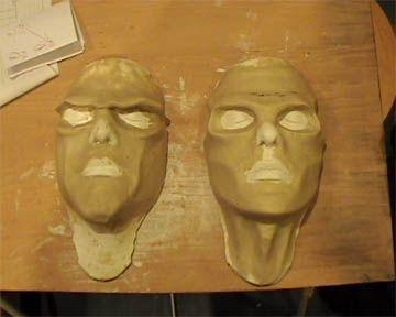 Gros TUTO pour faire Masques et protheses en mousse de latex