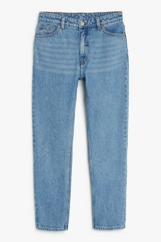 Monki Image 2 of Kimomo jeans in Blue