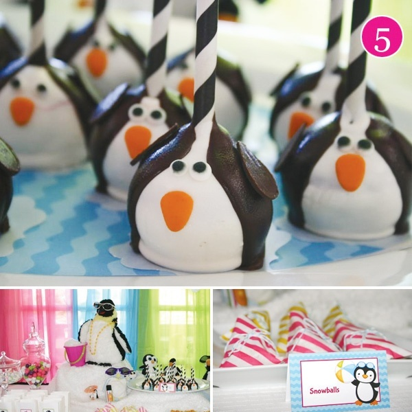 penguin baby shower decorations