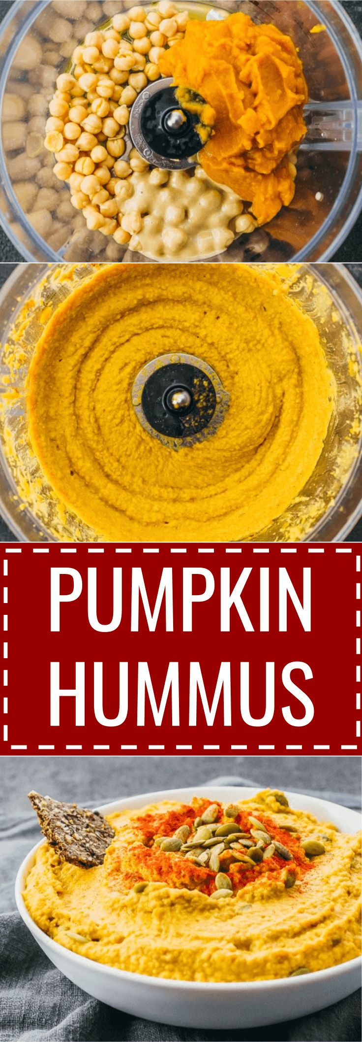 Spiced pumpkin hummus dip with tahini / thanksgiving / spicy / how to make / cinnamon / recipe / sweet / appetizers / savory / vegan / olive oils / fall / food / homemade / mediterranean / keto / low carb / diet / atkins / induction / meals / recipes / ea
