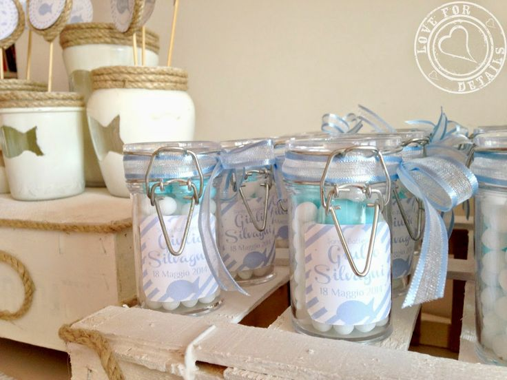 Bomboniere per BATTESIMO IN SPIAGGIA - Favors for a BAPTISM ON THE BEACHby Love4Details