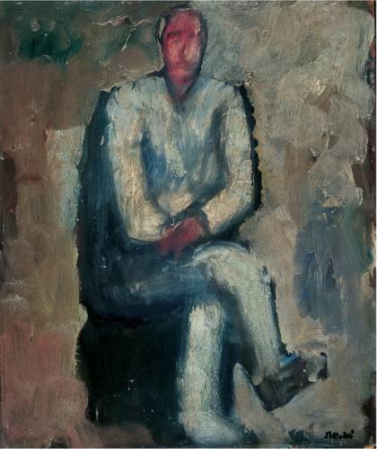 Mario Sironi Uomo seduto