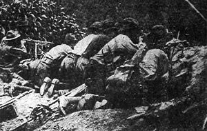 The Battle of Blair Mountain was one of the largest civil uprisings in United States history and the largest armed rebellion since the American Civil War.  For five days in late August and early September 1921, in (Logan) County, West Virginia, some 10,000 armed coal miners confronted 3,000 lawmen and strikebreakers, called the Logan Defenders, who were backed by coal mine operators during an attempt by the miners to unionize the southwestern West Virginia coalfields.