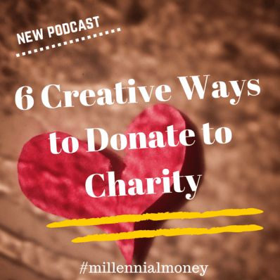 It's easy to donate to charity, cheaply.