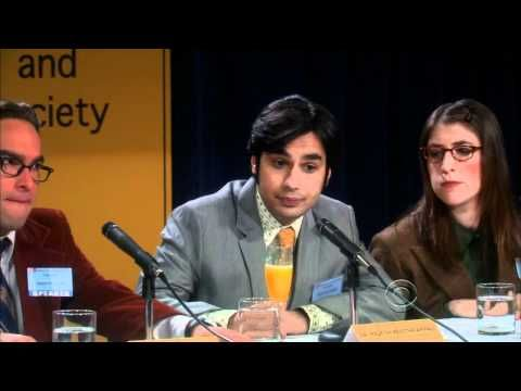The Big Bang Theory - Funniest Science Conference Ever...i did not stop laughing