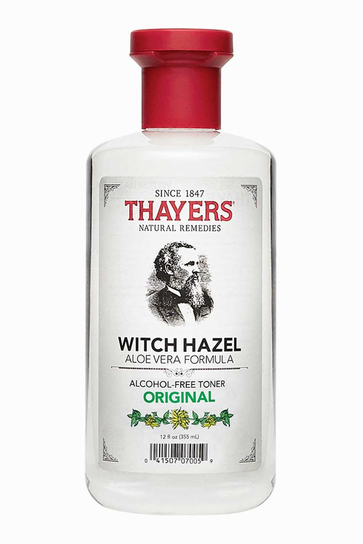 Thayers Alcohol-Free Original Witch Hazel TonerAlcohol-Free For Years – And We Don't Miss It.Thayers Original Alcohol-Free Witch Hazel with Aloe Vera Formula Toner will make your skin come alive. Thayers original formula is made with our proprietary Witch Hazel extract.12 oz. bottle