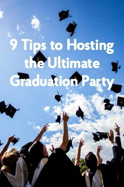 If you're planning a graduation party, make it memorable and fun by following these smart tips. Set up outdoor games, such as ladder golf and corn hole, for guests to play in the yard. Store your beverages in an inflatable drink cooler that looks like a graduation cap and balloons! Bake and decorate cupcakes with graduation cap toppers. Assemble a photo album of pictures with family and friends, leaving space for guests to write a favorite memory. Consult eBay for 9 great party-hosting tips.