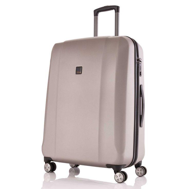 Großer #Koffer TITAN Xenon 2.0 bei Koffermarkt: ✓Farbe champagner ✓4 Rollen ✓74 x 53 x 31 cm ✓Hartschale ✓Business-Trolley
