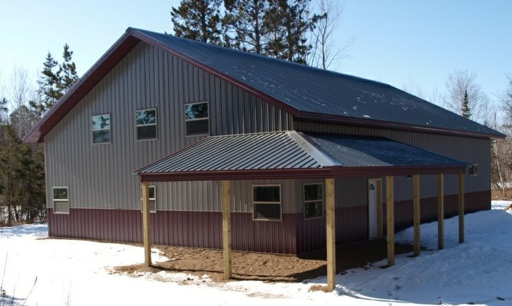 Steel buildings with living quarters floor plans click for Metal garage with living quarters floor plans