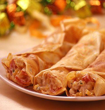 Crêpes farcies à la mexicaine - Recettes de cuisine Ôdélices
