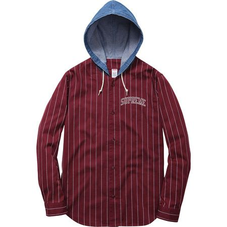 bc169869e16b Supreme baseball jersey and denim hoodie