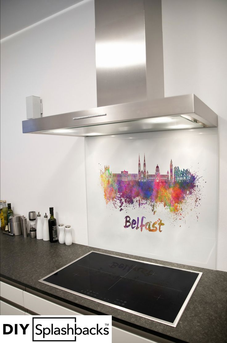 Fusion 29 s6 elite westbrook dummy handleset two piece interior with - Belfast Watercolour Glass Splashback Part Of The Capital City Series It Is Possible To