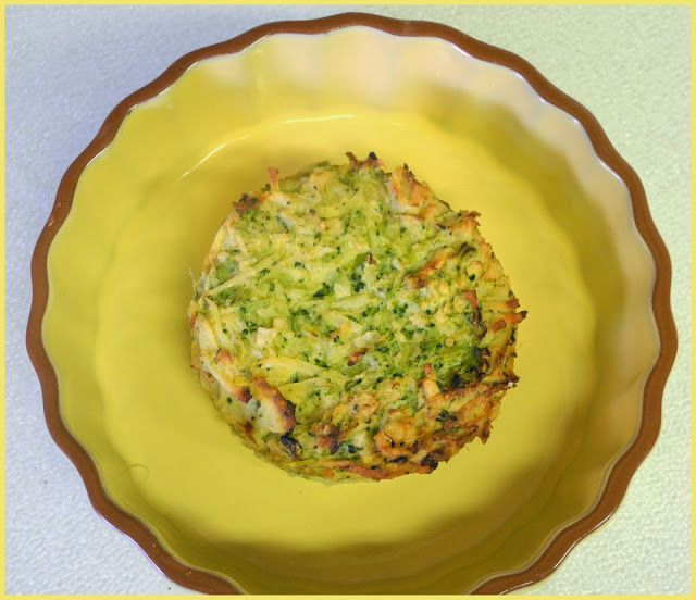 BIZZY BAKES: - Broccoli Potato Kugel Muffins