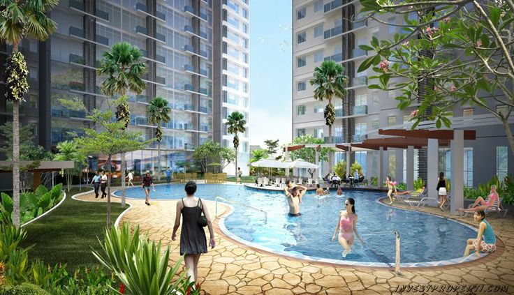 Puri Orchard Apartemen Kolam Renang