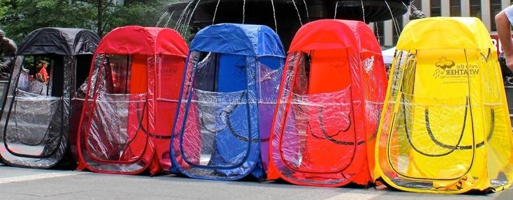 Regular Tent- perfect for watching your kids play soccer or other outdoor events. Stay warm and dry!