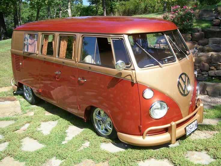 VW Camper Gold