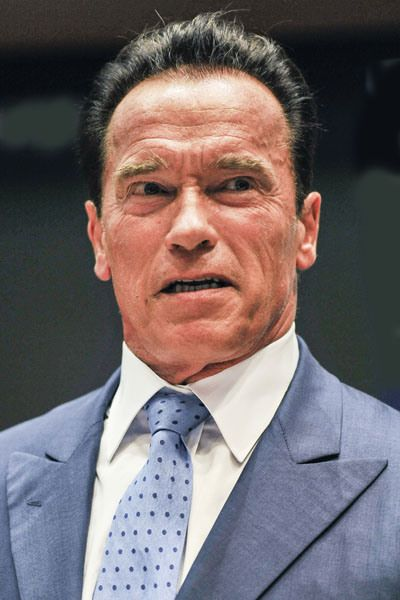 Arnold Schwarzenegger: The movie star and California Governor's good image  was terminated after news broke