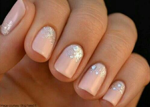 love this gel nail design from nailed it!