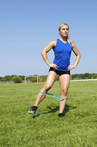 Mini bands are ideal for lateral movements, teaching and improving the squat and on field performance. www.bellsofsteel.com