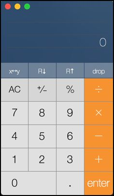 How to turn the Mac Calculator app into RPN (Reverse Polish Notation) mode, like a classic HP calculator...