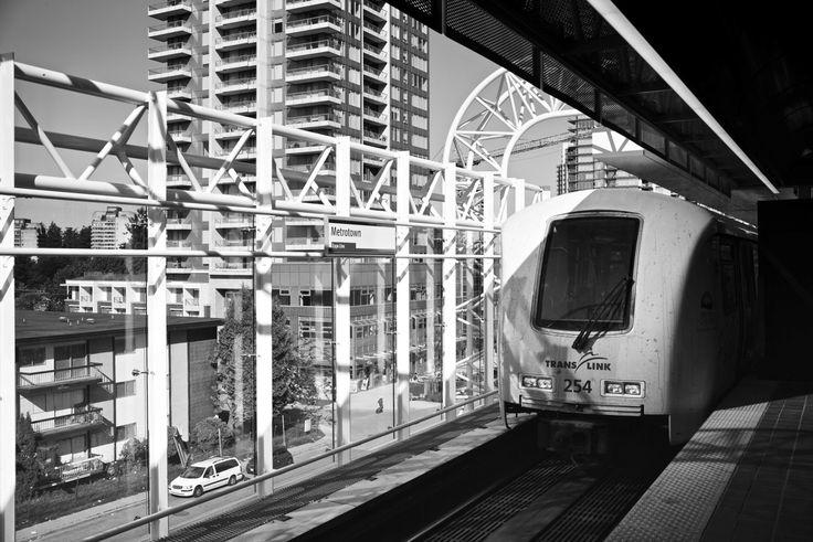 Metrotown Station at Burnaby, BC