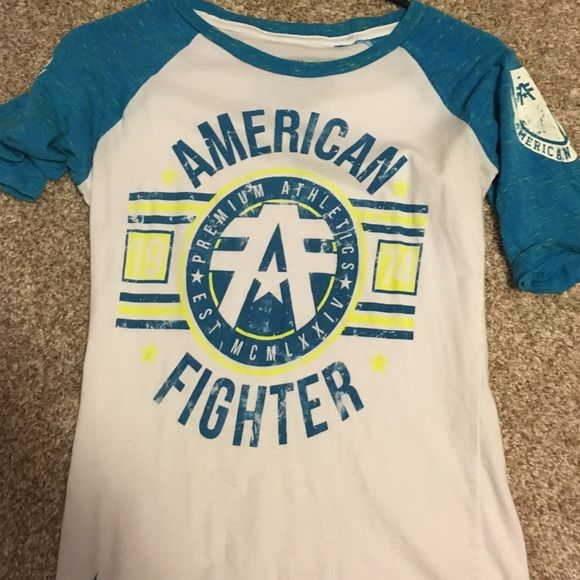 Women's American Fighter shirt Designer shirt Affliction Tops Tees - Short Sleeve
