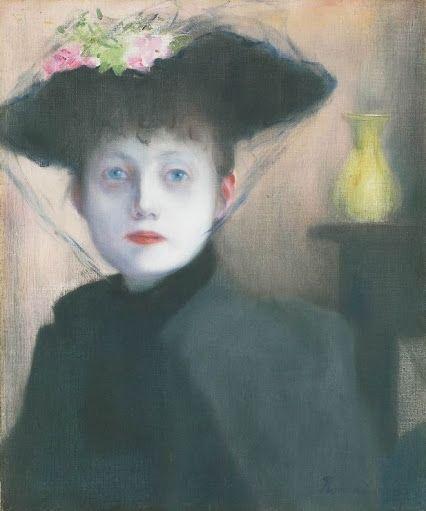 József Rippl-Rónai (Hungarian, 1861-1927): Parisian Woman, 1891