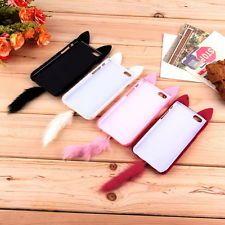 """For 4.7"""" iPhone 6 3D Cute Fluffy Tail Cat TPU Case Cover Skin KK"""