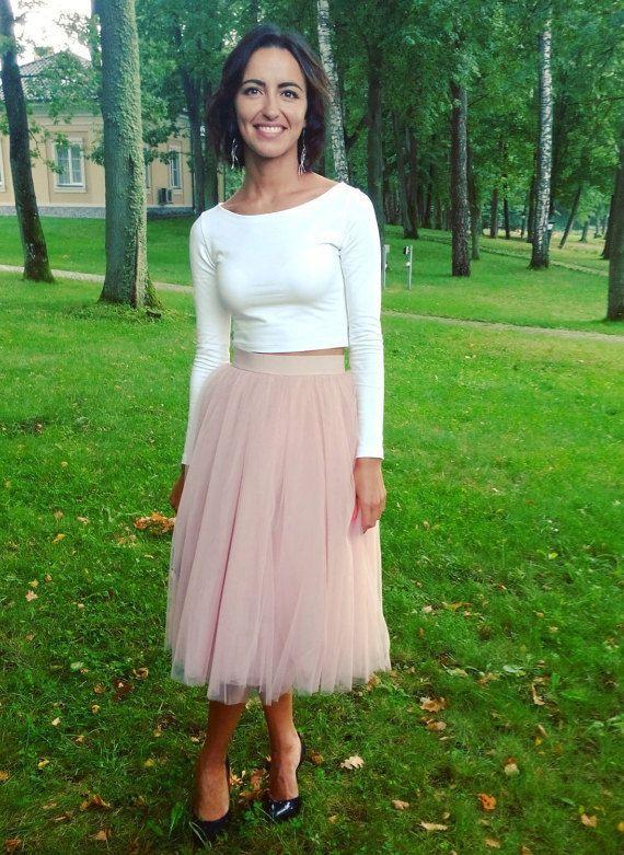 db07e7a774 Blush Pink Tutu Extra Full Skirt Birthday Tutu Baby Prop Tutu Adult Costume
