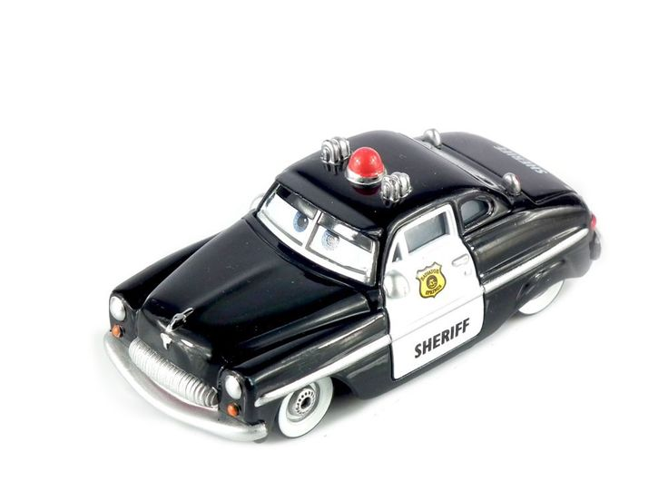 Pixar Cars 2 Sheriff Diecast Metal Classic Toy cars for Kids Children Brio Toy Car 1:55 for children kids toys thomas and friend