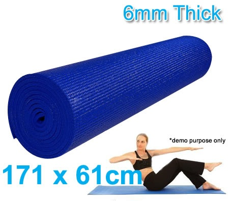 Be fit and healthy with this yoga mat only for $14.95