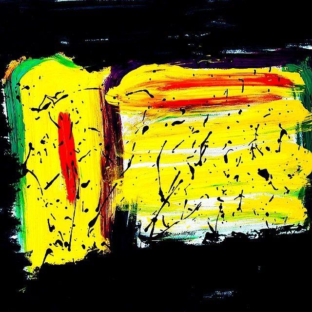 """UNTITLED"" Chinese Ink & Acrylic on paper. Black-Hard Artstudio @blackhardartstudio Instagram photos | Webstagram"