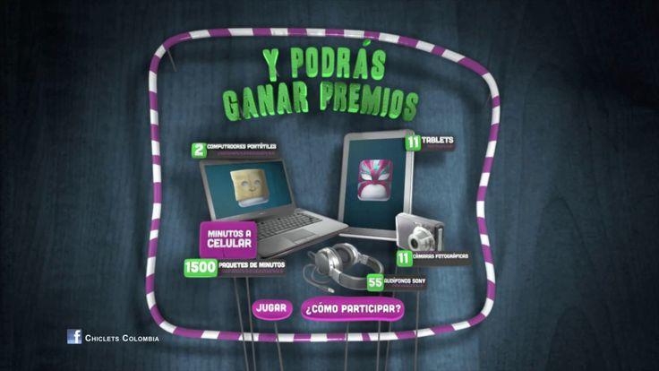 Comercial Chiclets ADMS Direccion de Arte: Lina Rangel