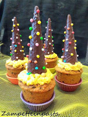 Muffin alla zucca e gocce di cioccolato - Pumpkin and chocolate muffins http://zampetteinpasta.blogspot.it/2016/10/muffin-alla-zucca-e-gocce-di-cioccolato.html
