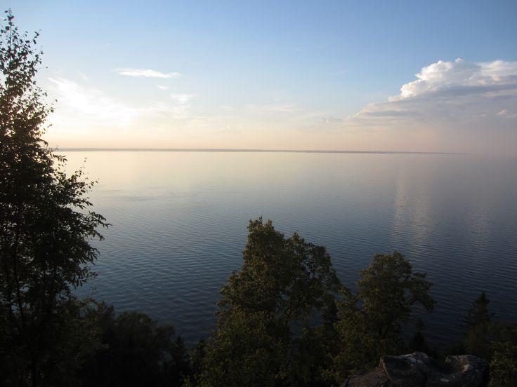 Lake Vanern from Hunneberg, Sweden