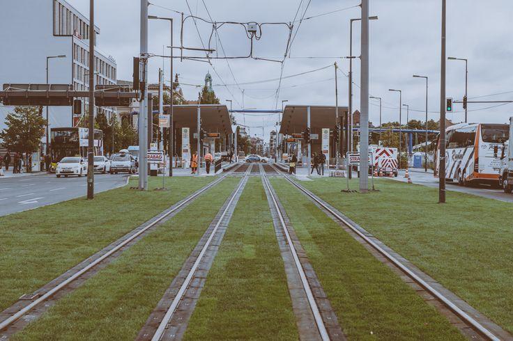 """Schienenbett der Tram-Station """"Hauptbahnhof"""" (CC BY-NC-ND)"""