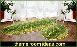 Green Leaf Carpet JUNGLE BEDROOM DECORATIONS jungle themed decor