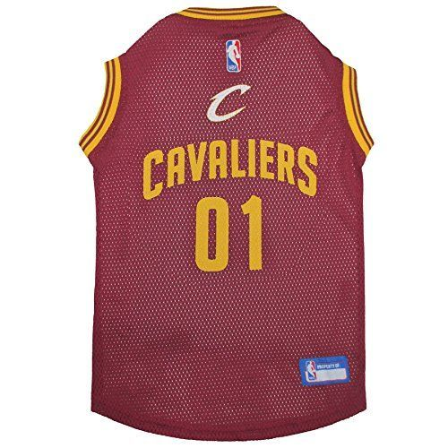 Pets First NBA Cleveland Cavaliers Basketball Pet Jersey, Small -- Details can be found by clicking on the image.