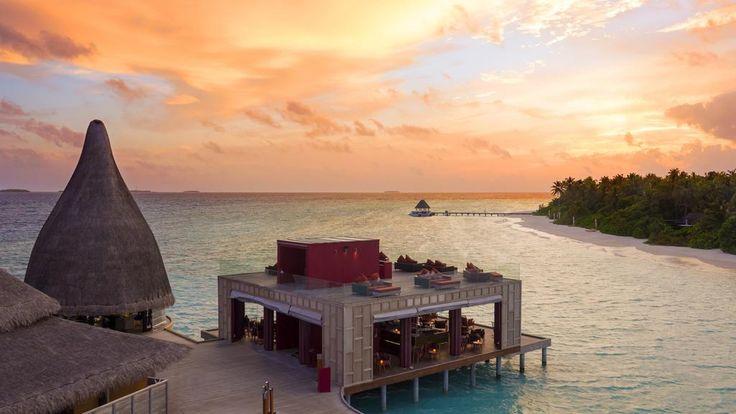 Anantara Kihavah Maldives Villas - sunset view
