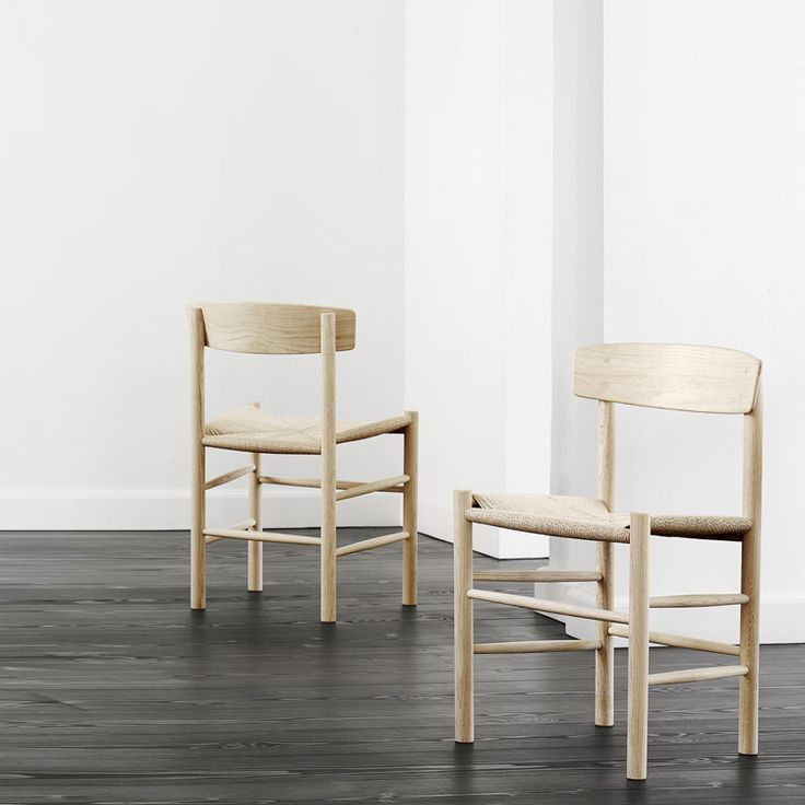 Fredericia Furniture 3239 J39 Folkestolen - Børge Mogensen