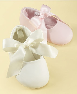 First Impressions Baby Girl Ballerina Slippers - Kids Baby Girl (0-24 months) - Macy's