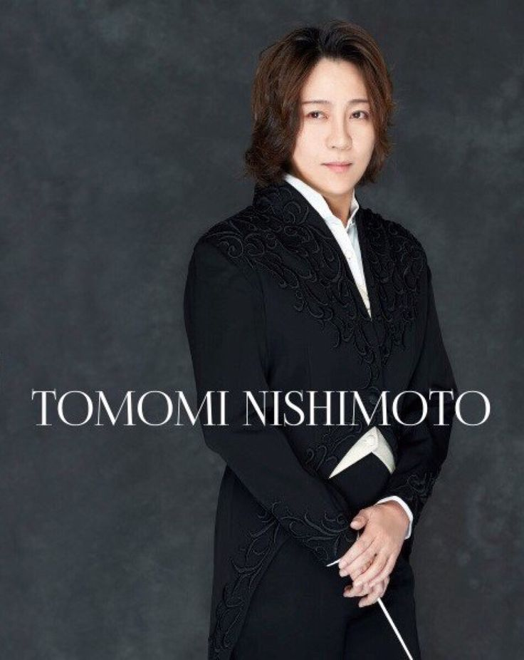 Tomomi Nishimoto, conductor. My gawd...elp!☺️