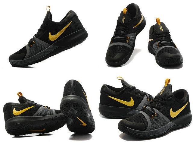Free Shipping Only 69$ Nike Zoom Assersion EP Kyrie Black Gold Finals