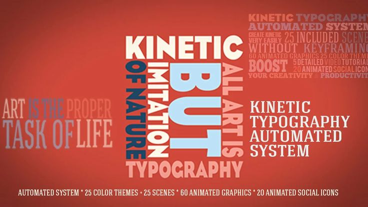 6th included Storyboard - Kinetic Typography Automated System Package on Vimeo