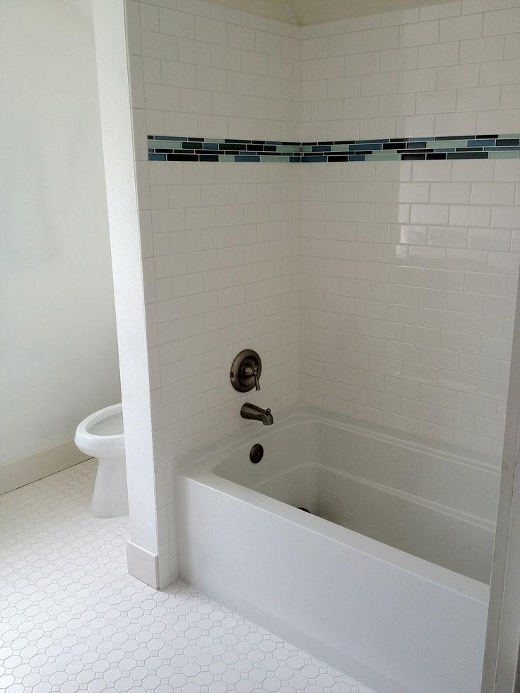 Subway Tile Walk In Shower