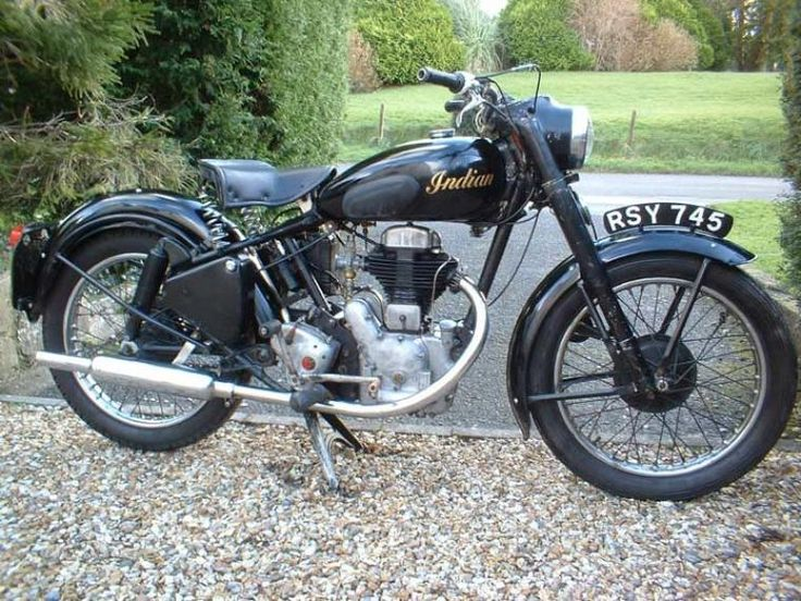 1954 Indian Firearrow Classic Motorcycle Pictures